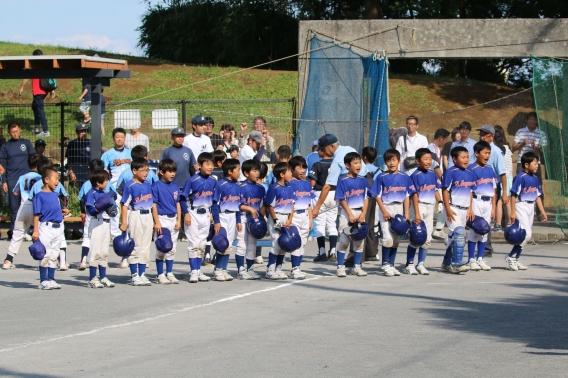 南区学童4年生大会準決勝進出